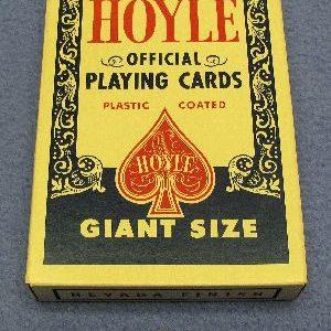 Jumbo Hoyle Deck - Blue