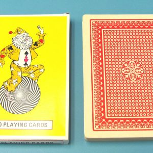 Jumbo Playing Cards #94100 Red Backed (Pre-Owned)