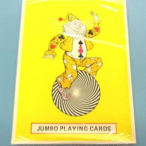 Jumbo Sealed Playing Cards #5007 (Red Back)