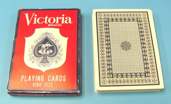 Jumbo Victoria Brand Playing Cards