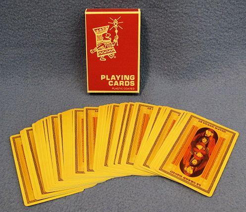 Le Grand David Playing Cards - Backs