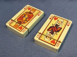 Medieval Theme Playing Cards - Faces