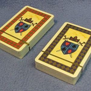 Medieval Theme Playing Cards - Backs
