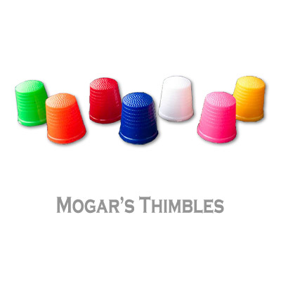 Mogar Thimbles Mixed Pack of 10