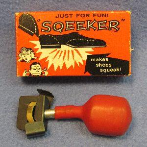 Sqeeker Shoe Joke