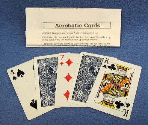 Acrobatic Cards