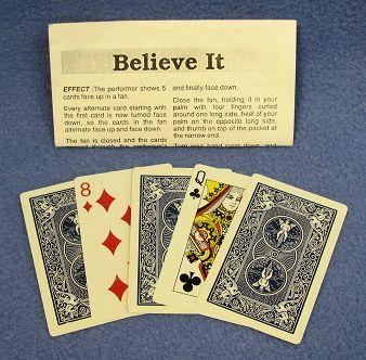 Believe It Card Trick