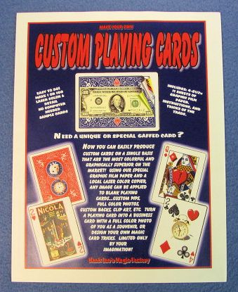 Custom Playing Card Kit