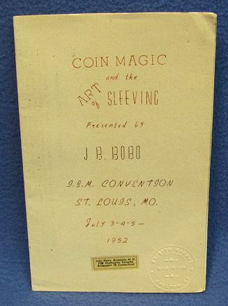 J. B. Bobo Lecture Notes