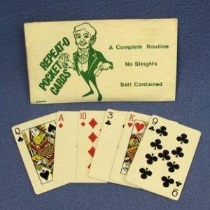 Repeat-O Pocket Cards