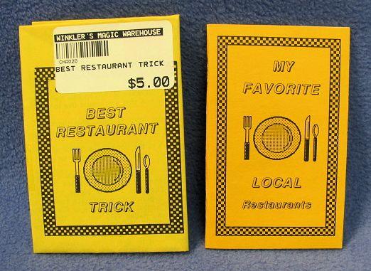 Best Restaurant Trick