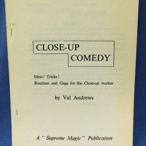 Close-Up Comedy Val Andrews Supreme Magic