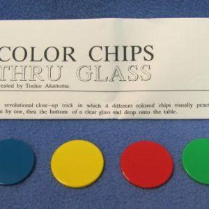 Color Chips Thru Glass Japan