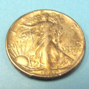 Folding Vintage Liberty Walking Half Dollar (1941)