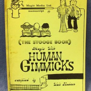 The Stooge Book Magic With Human Gimmicks Walt Hudson