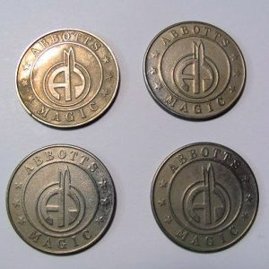 Abbott's Magic Token Palming Coins Set of 4