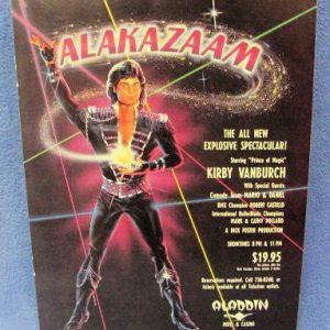 Alakazam Show Ad 1991