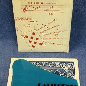 Bumper's Magical Comedy Jumbo Playing Card