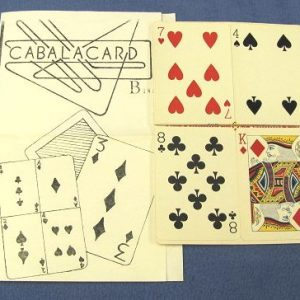 Cabala Card by Jair Bonair