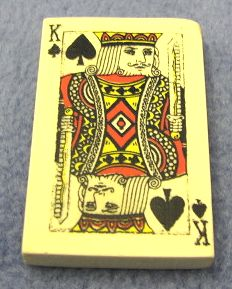 Card Eraser King of Spades