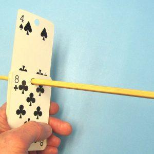Chopstick Card Rise