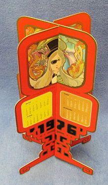 Chu's Foldout Calendar 1976