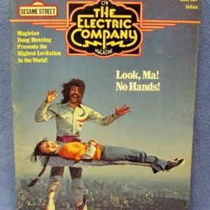 Doug Henning On Cover Of The Electric Company Magazine