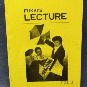 Fukais Lecture Volume 1