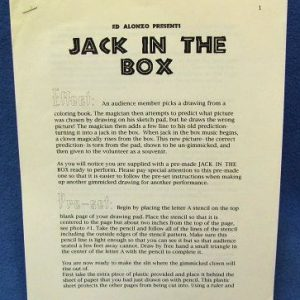 Jack In The Box Instructions Ed Alonzo