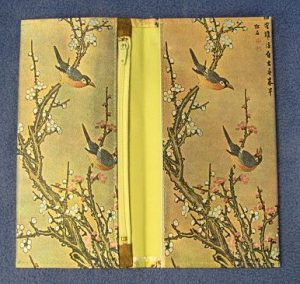 Korean Decorative Bi-Fold Wallet - Birds-2