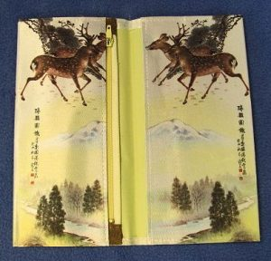 Korean Decorative Bi-Fold Wallet - Deer-2