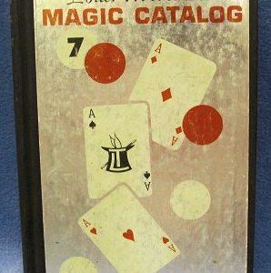 Louis Tannen's Catalog of Magic 7 (3 Aces)