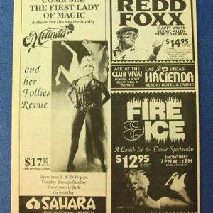 Melinda Show Ad 1991