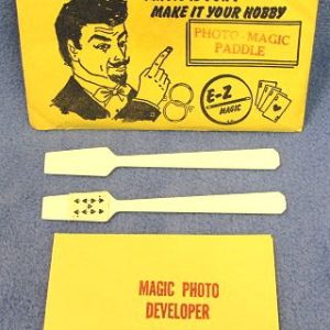 Vintage E-Z Magic Photo Magic Paddle