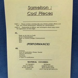 Samelson Cod Pieces