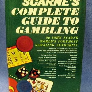 Scarne's Complete Guide To Gambling by John Scarne