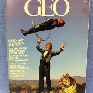 Siegfried and Roy Cover of GEO Magazine Jan 1984