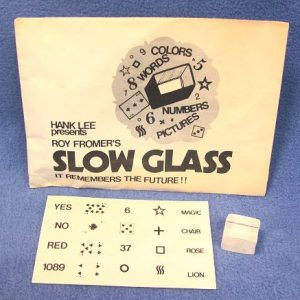 Slow Glass (Roy Fromer)