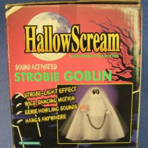 Strobie Goblin Halloween Sound Activated Novelty