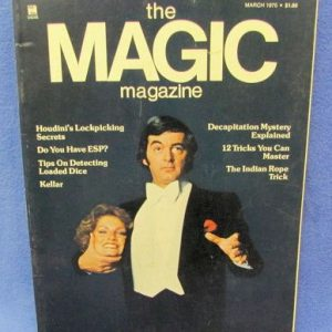The Magic Magazine March 1975