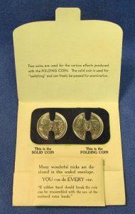 The Wonderful Folding Coin-2 Adams' Magic
