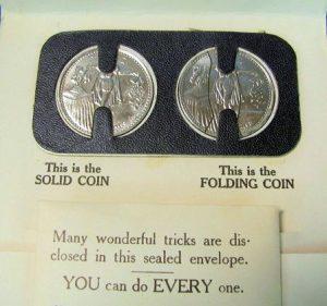 The Wonderful Folding Coin-3 Adams' Magic