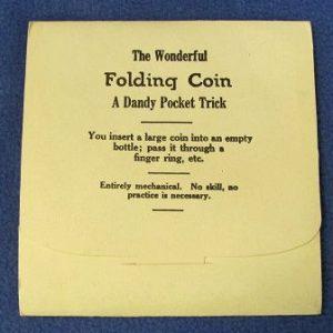 The Wonderful Folding Coin Adams' Magic