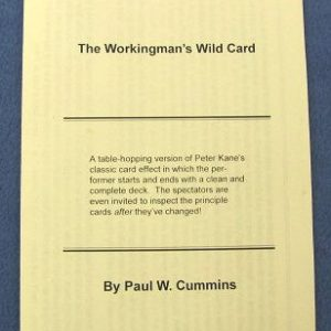 The Workingman's Wild Card Instructions Only