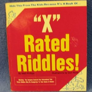 X Rated Riddles by Matt Phillips