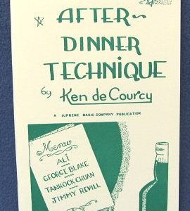 After Dinner Technique by Ken de Courcy
