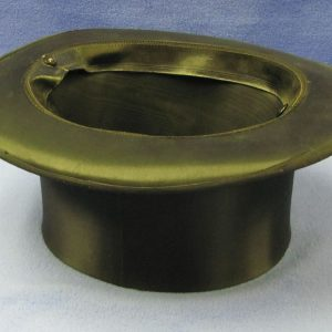 Collapsible Top Hat With Secret Changing Flap