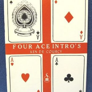 Four Ace Intro's by Ken De Courcy