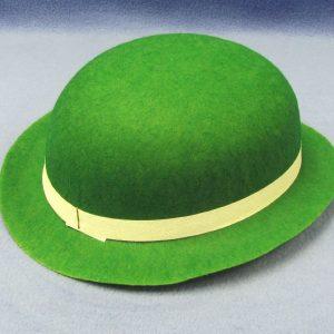 Hat - Felt - Green