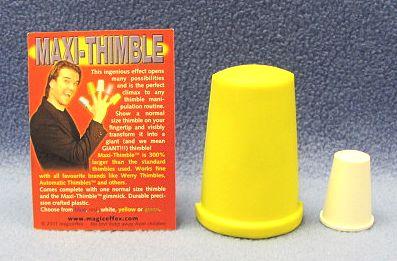 Maxi Thimble - Yellow